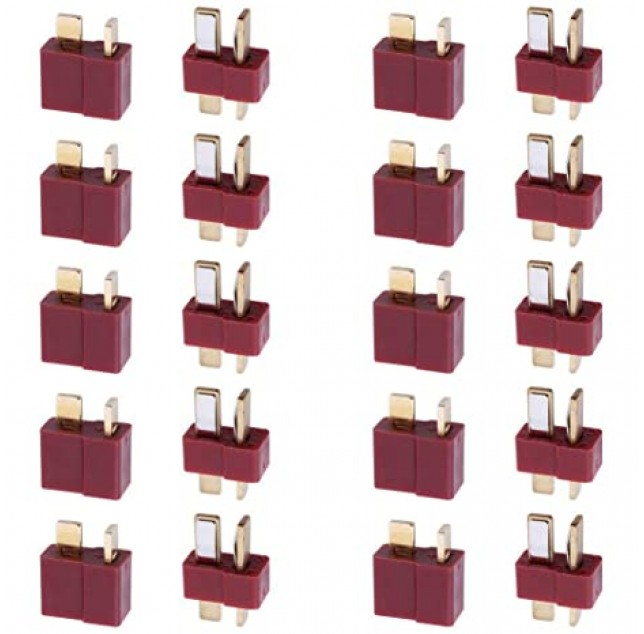 10 Pairs T-Plug Connectors