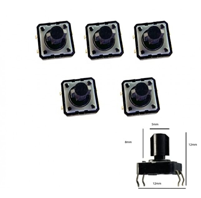 8mm Long Micro Switch-Pack of 10