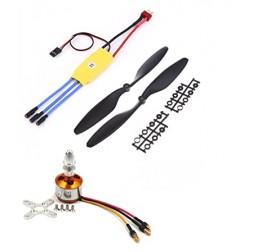 BLDC Brushless Motor + 30A ESC + Propeller Quadcopter mini kit