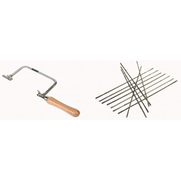 Coping Hand Saw with 144 Piece Blades
