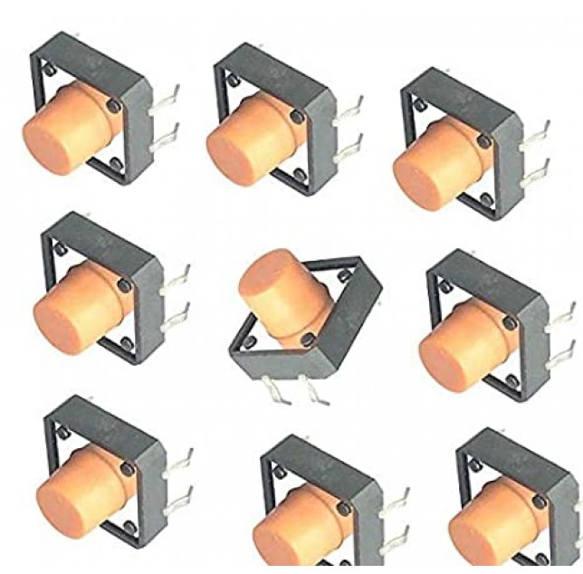 Micro switch 4-pin ON button switch-10PCS