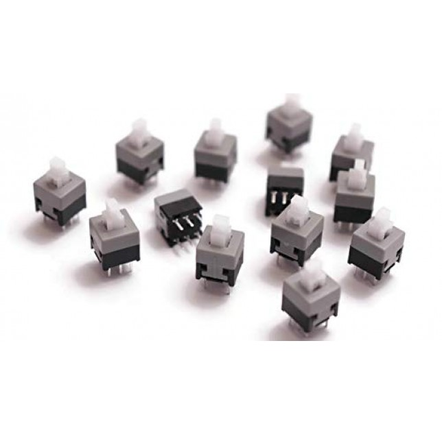 Plastic and Metal Self-locking Switch-Pack of 10