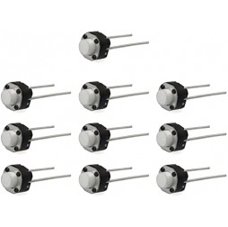 Round Tactile Micro Push Button Switch-10PCS