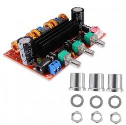 TPA3116D2 DC, 12-24 V, 2 x 50 W + 100 W, Tpa3116, 2.1 Channel Digital Subwoofer Amplifier